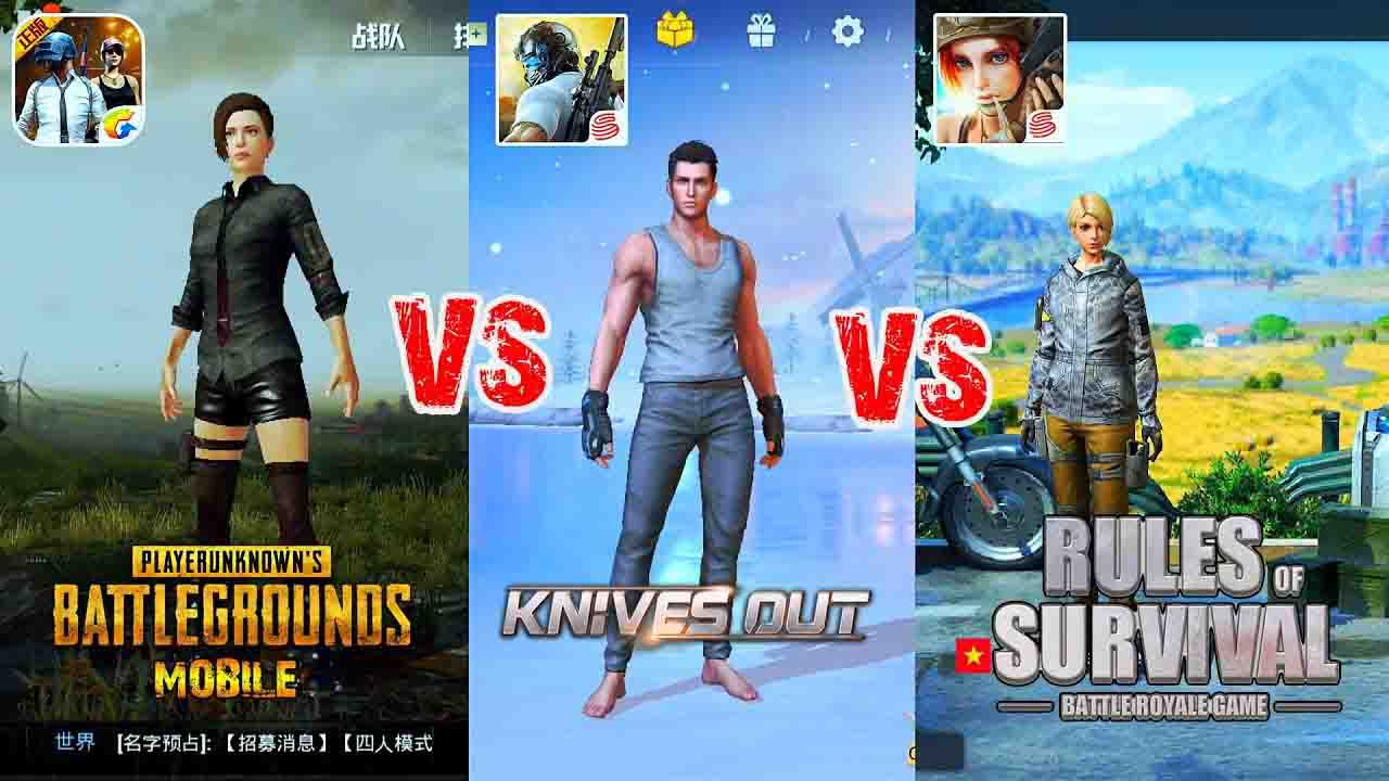 pubg-Knives-Out-Rules of Survival